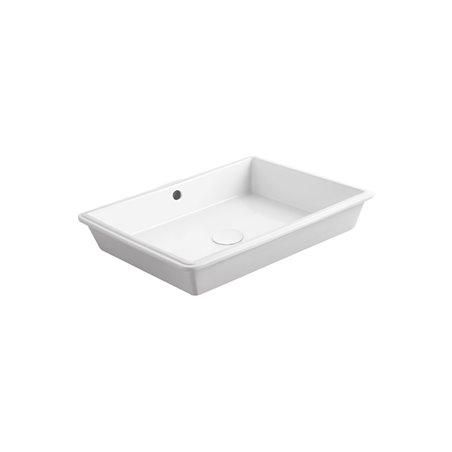 lavabo sottopiano rettangolare S59 Agile Simas