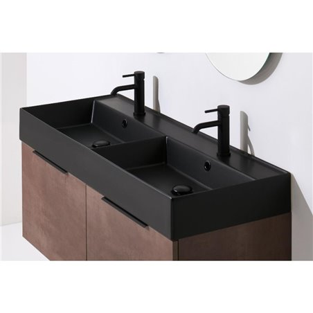 bagno due lavabi AG141D Agile Ceramica Simas