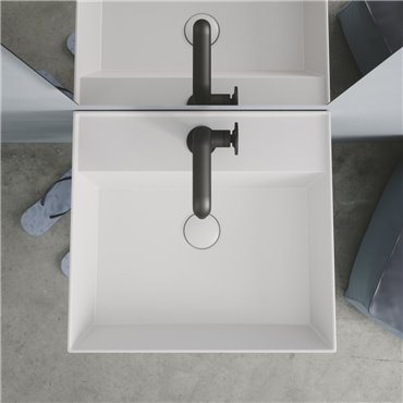 Wandhängendes Badezimmerwaschbecken AG51 AG61 Agile Simas