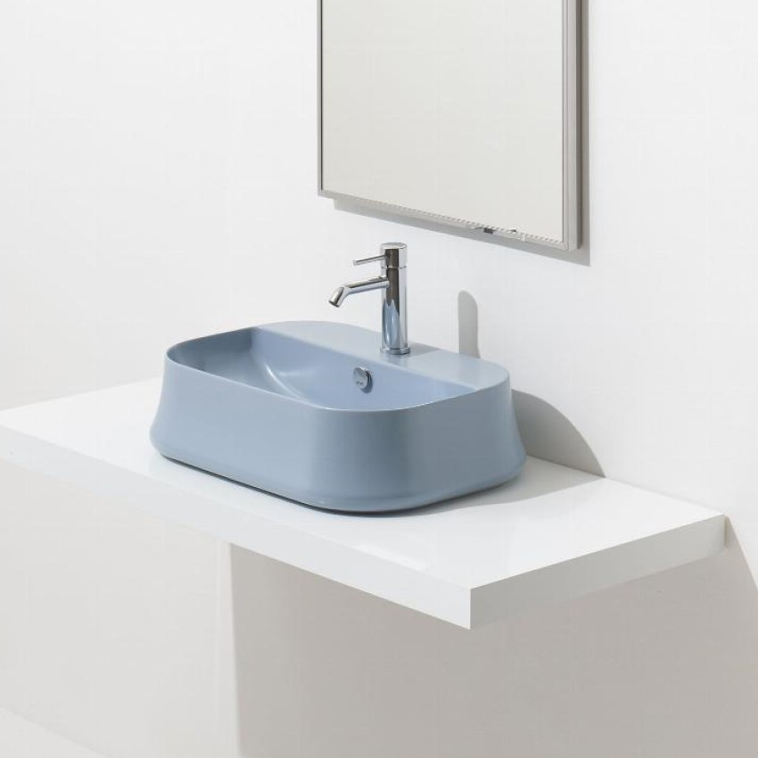 Lavabo color celeste SH09 Sharp Simas Ceramica