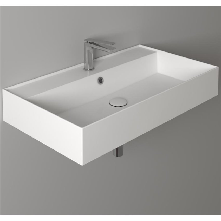 Lavandino bagno sospeso AG81 AG91 Agile Simas
