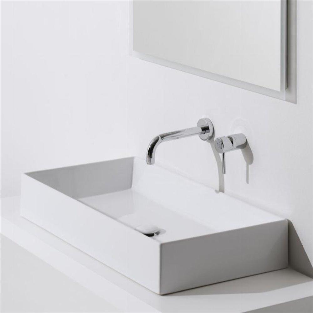 Lavabo appoggio design AG80 Agile Simas Ceramica