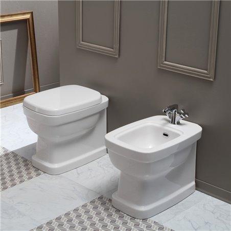 sanitari bagno a filo muro Evolution Simas Ceramica