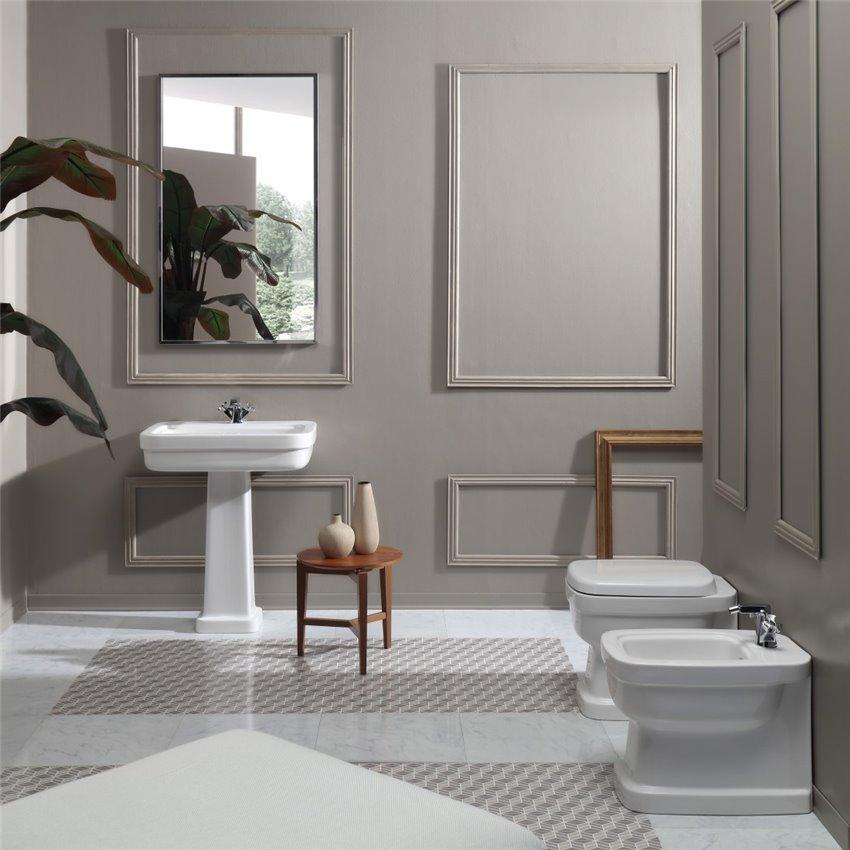 coppia sanitari filo muro Evolution Simas Ceramica