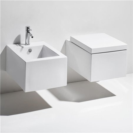 bagni moderni con sanitari sospesi Frozen FZ18 FZ19 Simas Ceramica