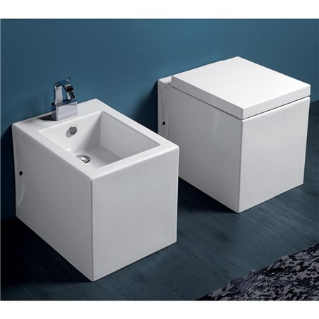 Sanitari moderni filo parete Frozen FZ01 FZ04 Simas Ceramica