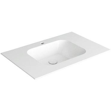 Konsole für Badezimmer WA80 Wave Simas Ceramica