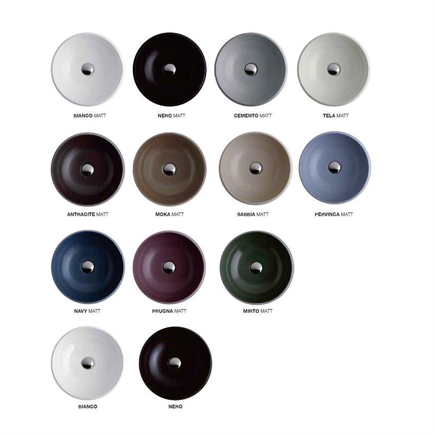 lavabi colorati Simas Ceramica
