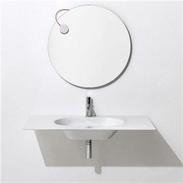 Hängewaschbecken für Badezimmer WA100 Simas