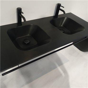 bagno lavandino doppio WA120 Wave Simas Ceramica