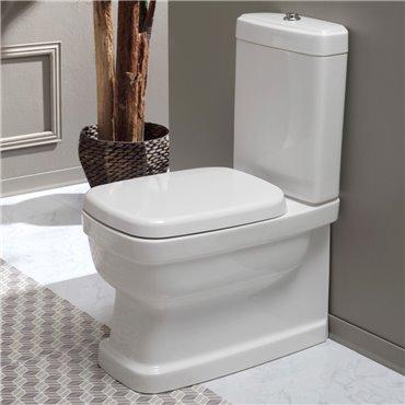 Evolution Simas Toilette mit externem Spülkasten
