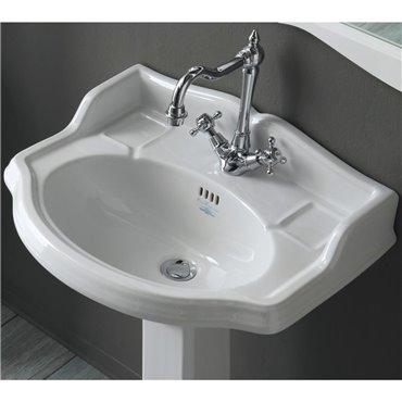 lavandino con colonna bagno Arcade AR814+AR815 Simas