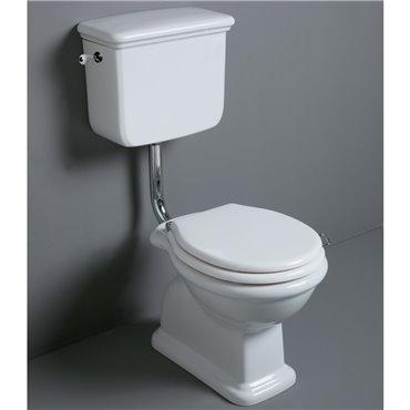 Toilette mit Rucksack-Spülkasten Lante LA01 LA28 D11 Simas