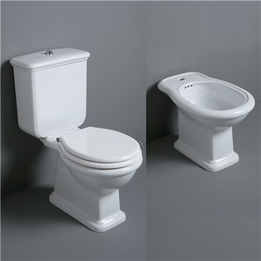 Sanitär-WC mit Spülkasten Lante LA04 LA07 LA09 D25 Simas