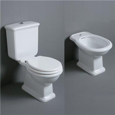 Sanitari wc con cassetta Lante LA04 LA07 LA09 D25 Simas