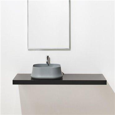 Lavabo da appoggio grigio Sharp 06 Simas Ceramica