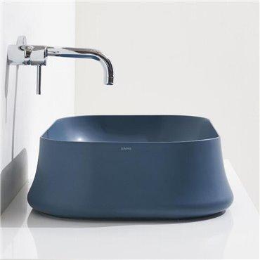 Sharp 08 blaue Spüle Simas Ceramica