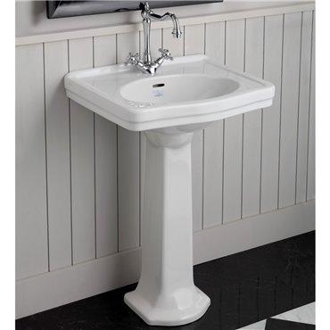 Lavabo a colonna classico lavabi retro 58 cm Londra Simas Ceramica