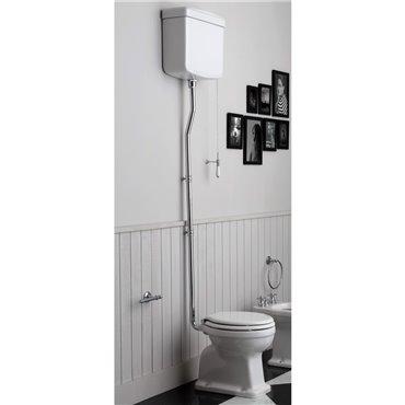 Vaso wc vintage con cassetta scarico wc con catenella Londra Simas