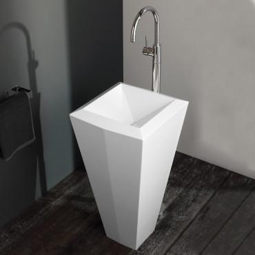 Crystal Olympia Ceramica freestanding washbasin