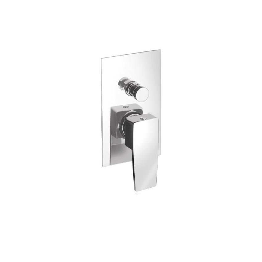 Mitigeur de douche à encastrer avec déviateur H2Q 3930 Flli Gaboli Rubinetteria