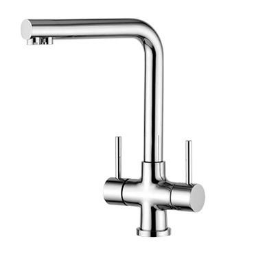 Robinets de cuisine 3 voies - robinets de cuisine à trois voies