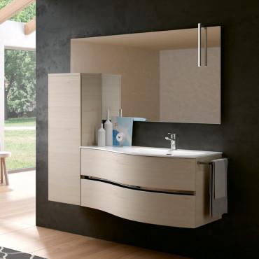 Muebles de baño curvos - Precios mueble lavabo curvo