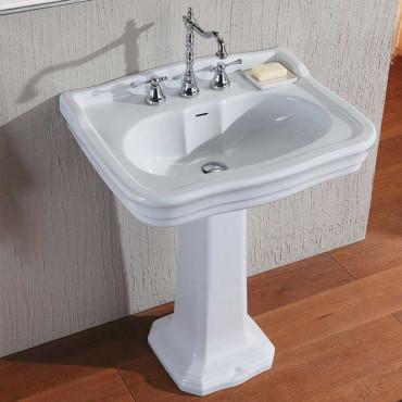 Lavabos con pedestal