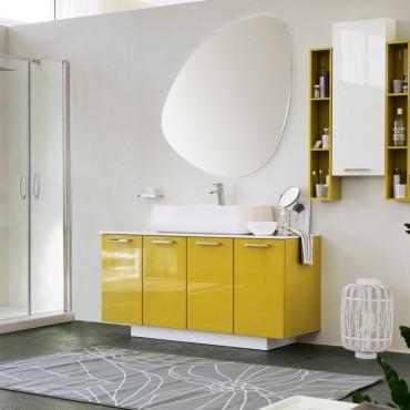Meuble salle de bain à poser au sol