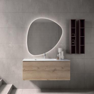 Waschbeckenunterschrank Holz