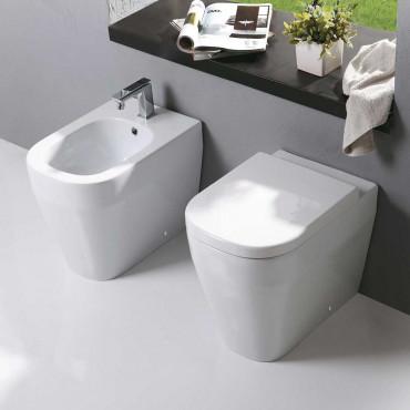 Stand WC wandbündig und Bidet - kaufen Sie online bei IDEEARREDO.com