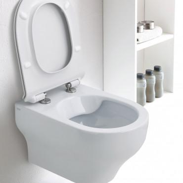 Toilette sans rebord