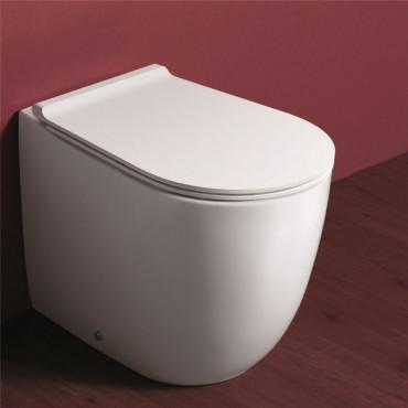 Stand Toilette aus Italien online - Stand WC Abgang senkrecht Preisen