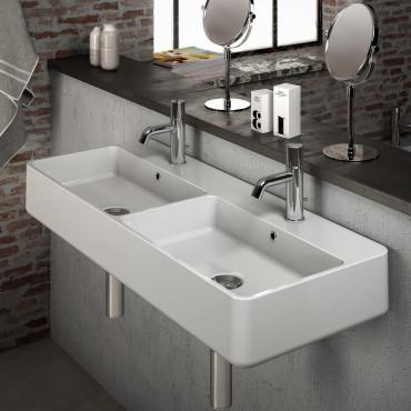 Lavabi con doppia vasca
