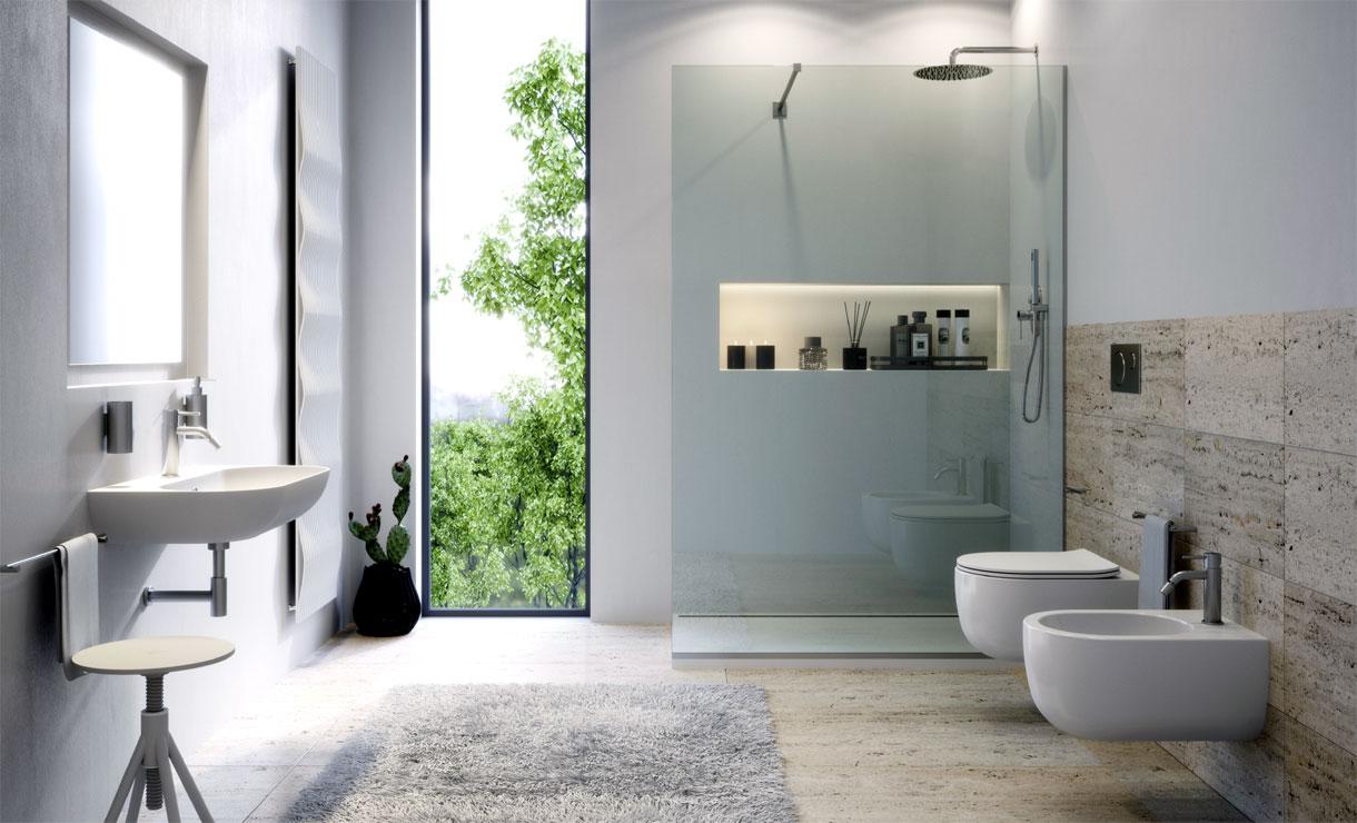 come arredare il bagno - foto bagni