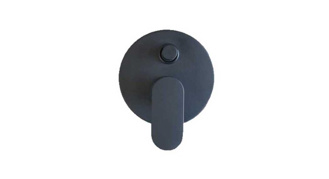 Miscelatore doccia con deviatore nero Mïa 4230 - Gaboli Fratelli