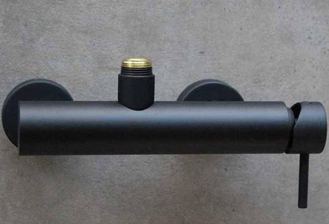 Miscelatore doccia esterno nero Heos 3026 - Gaboli Fratelli
