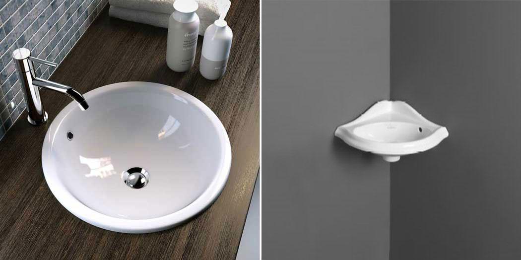 lavabi piccoli dimensioni, lavandino piccolo per bagno