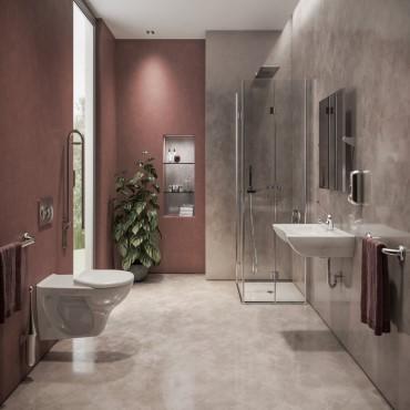 salle de bain pour handicapés
