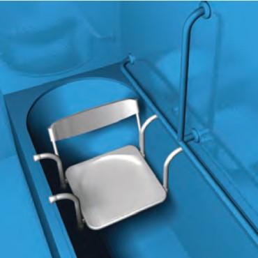 2 sedili per vasca disabili