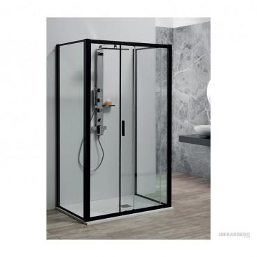 3-seitige Duschkabine 70x90x70