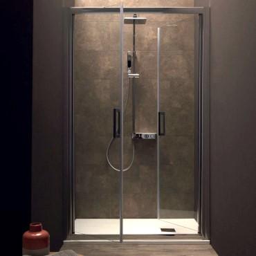 Salon Tür Duschkasten