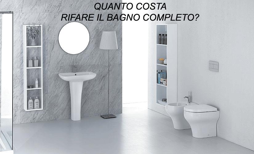 costo bagno completo