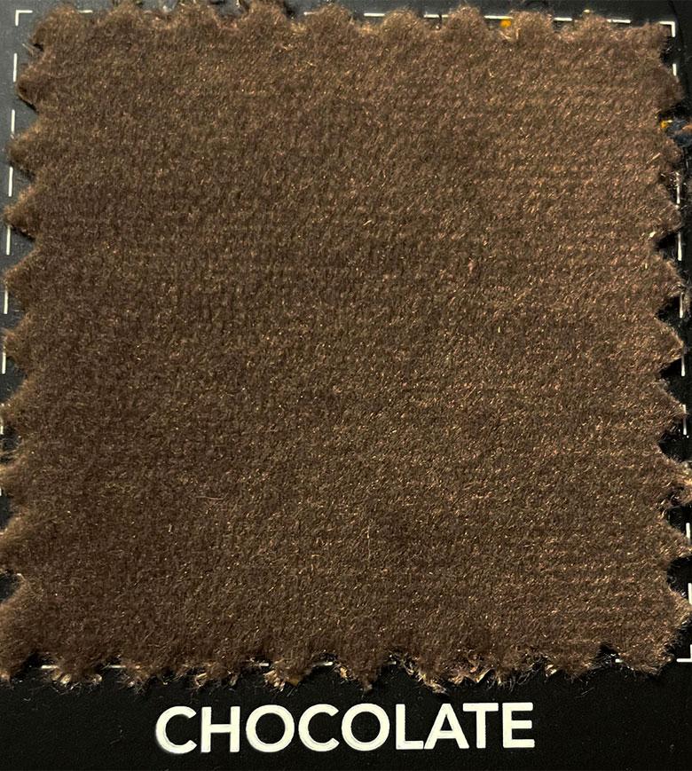 Divani in velluto - CHOCOLATE