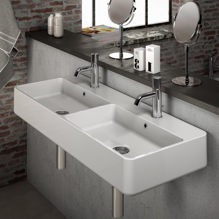 Lavabo doppia vasca