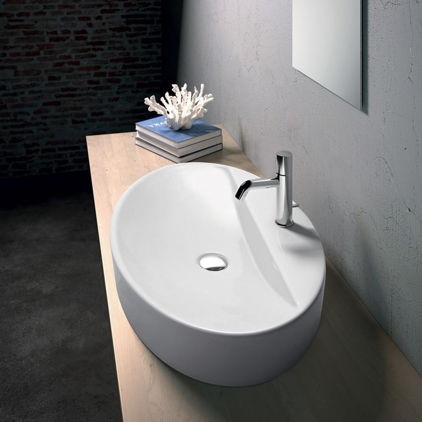 Vasque ovale 1er type