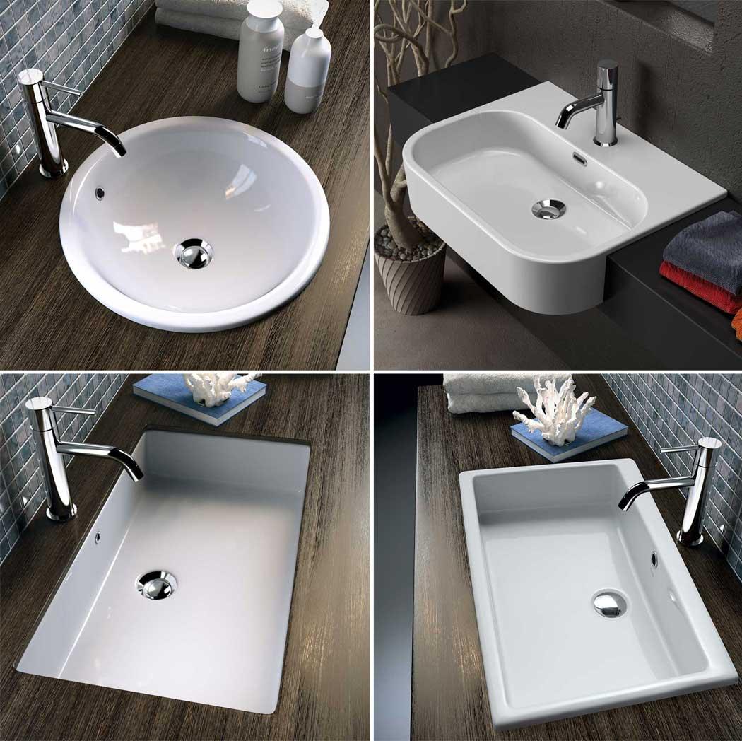 Mobile Bagno Lavandino Incasso lavabi di design: complementi d'arredo che valorizzano il