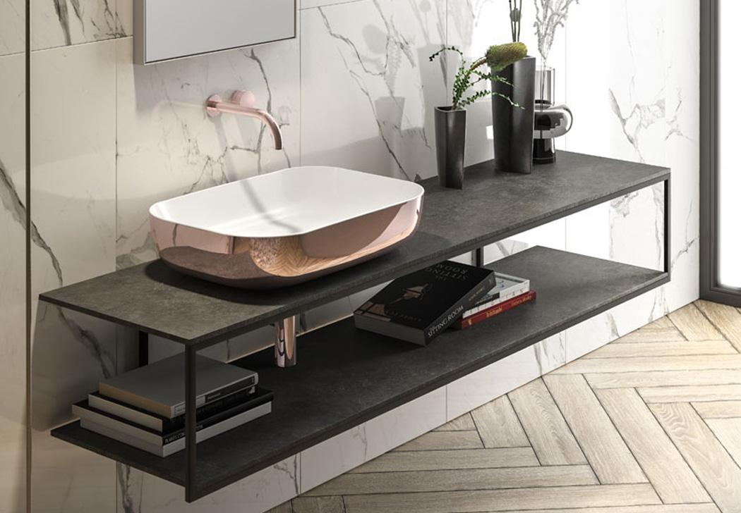 bagno piccolo come arredare - arredo bagno design