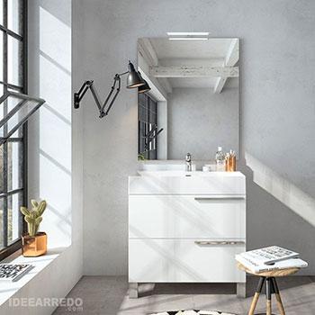 mobile bagno moderno appoggio a terra