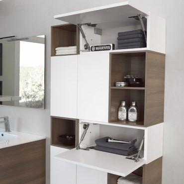mueble de pared de baño